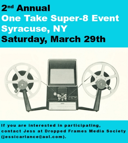 one take super-8 event